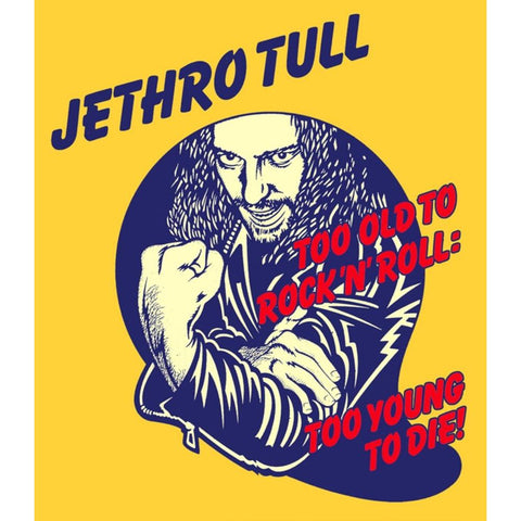 Jethro Tull Too Young To Die Sticker