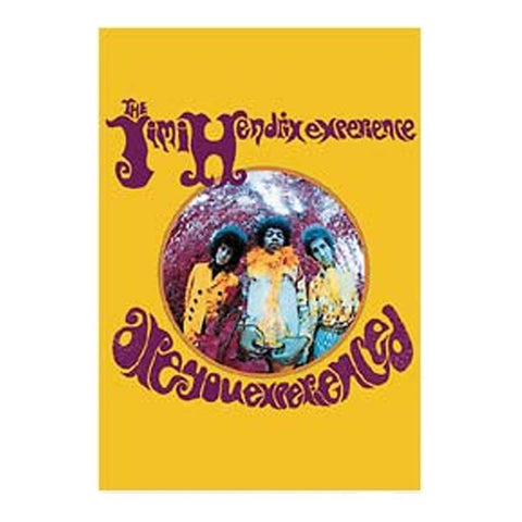Jimi Hendrix Are You Experienced Fabric Poster