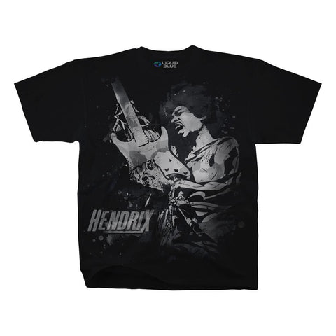 Jimi Hendrix Guitar God Men's T-Shirt