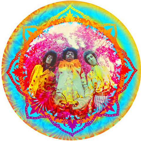Jimi Hendrix Kaleidoscope Sticker