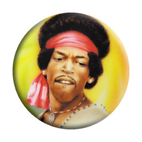 Jimi Hendrix Kennedy Woodstock Button