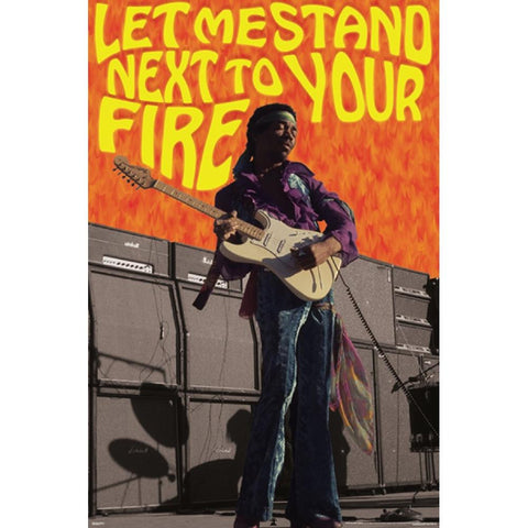 Jimi Hendrix Next to Your Fi Poster