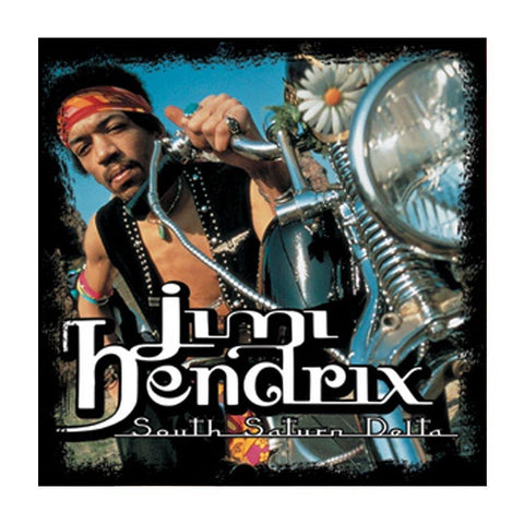 Jimi Hendrix South Saturn Delta Button