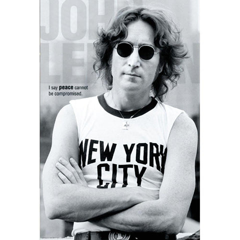 Beatles John Lennon New York Wall Poster