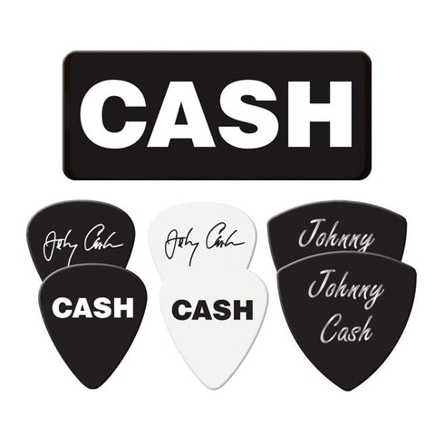Johnny Cash Cash 6 Pack Guitar Pick Tin