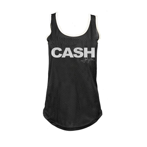 Johnny Cash Cash Block Women's Jersey T-Shirt