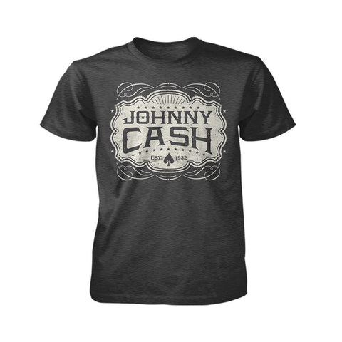 Johnny Cash Est. 1932 Emblem Men's T-Shirt