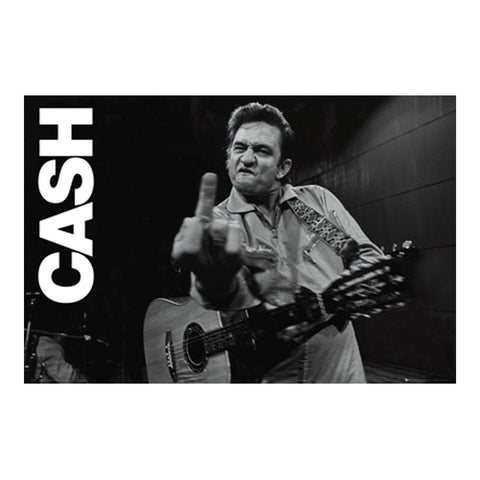 Johnny Cash Horizontal Poster