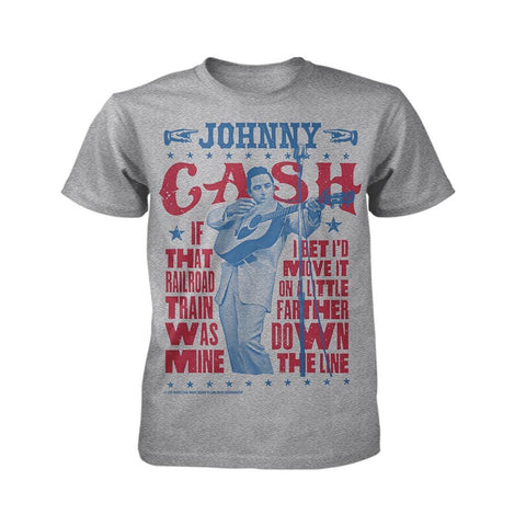 Johnny Cash JC Handbill Men's T-Shirt