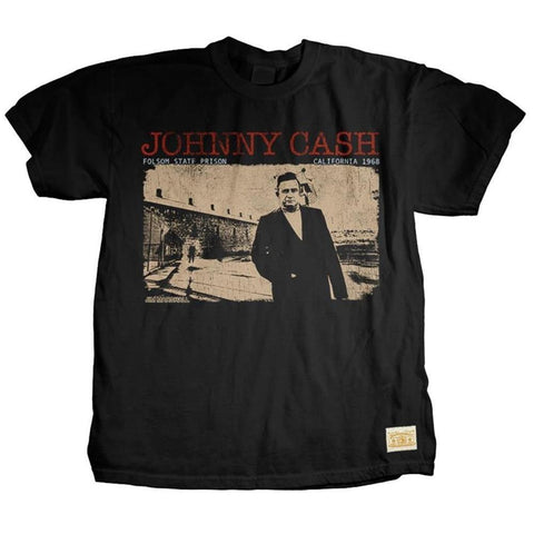 Johnny Cash Standing Tall Men's T-Shirt