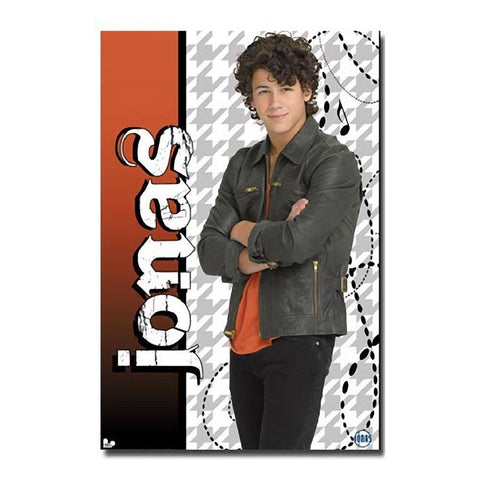 Jonas Brothers Nick Wall Poster