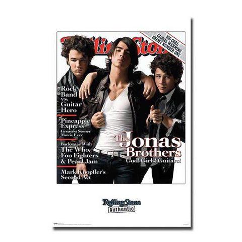 Jonas Brothers Rolling Stone Cover Wall Poster