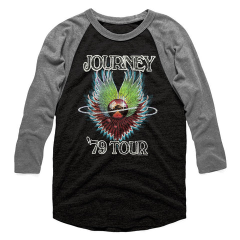 Journey Special Order 1979 Adult 3/4 Sleeve Raglan