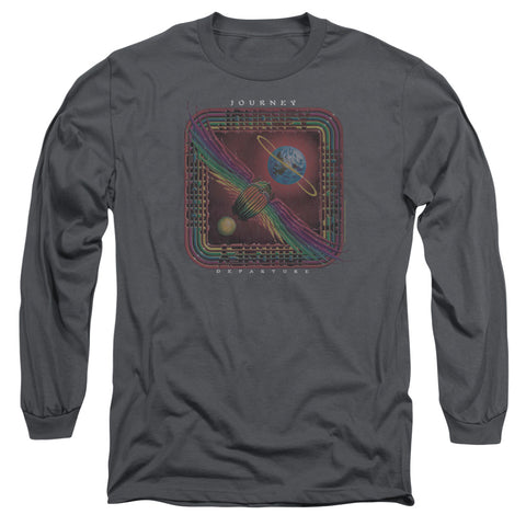 Journey Special Order Departure Men's 18/1 Long Sleeve 100% Cotton T-Shirt