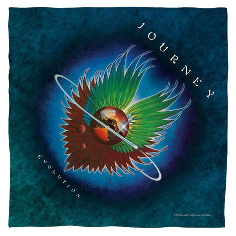 Journey Special Order Evolution Home 100% Polyester Bandana - 21 x 21 inches - 1-Sided