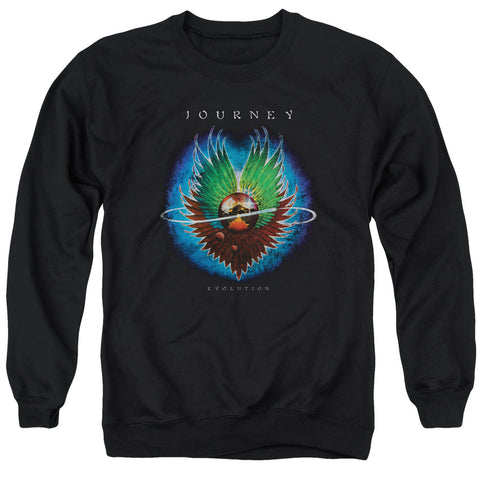 Journey Special Order Evolution Men's Crewneck 50% Cotton 50% Poly Long-Sleeve Sweatshirt