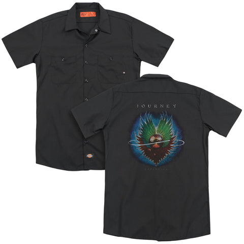 Journey Special Order Evolution(Back Print) Men's 35% Cotton 65% Poly Short-Sleeve Work Shirt