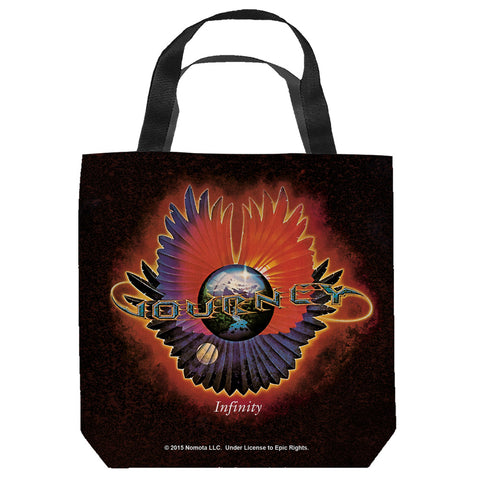 Journey Special Order Infinity Tote Bag - 100% Spun Polyester