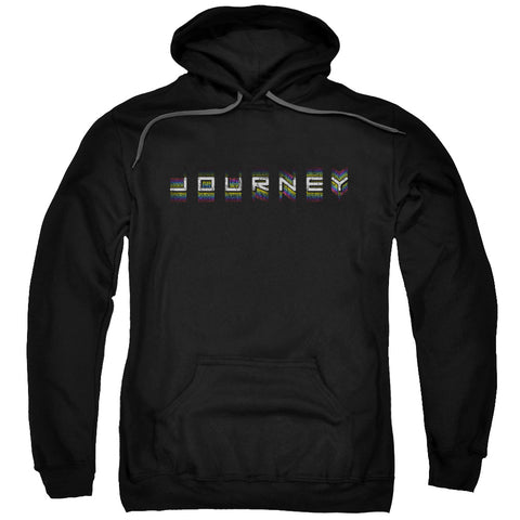 Journey Special Order Repeat Logo Men's Pull-Over 75% Cotton 25% Poly Hoodie