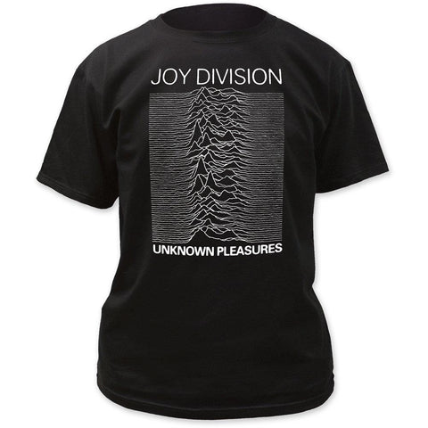 Joy Division Unknown Pleasures Black Men's T-Shirt