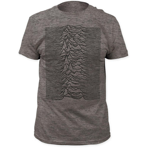 Joy Division Unknown Pleasures Gray Men's Premium Soft T-Shirt