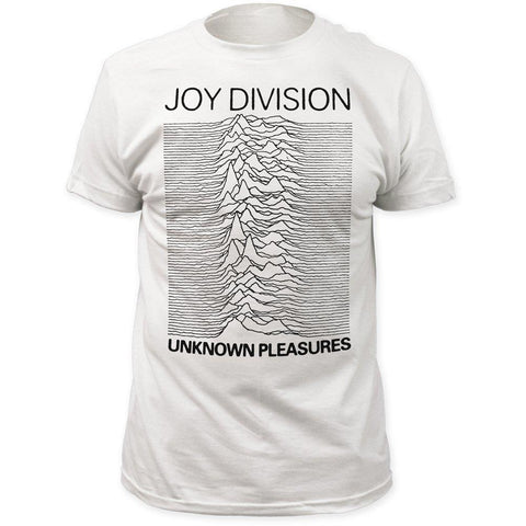 Joy Division Unknown Pleasures White Men's Premium Soft T-Shirt