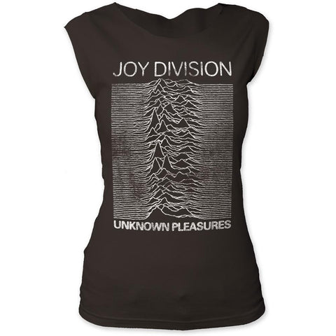 Joy Division Unknown Pleasures Women's Tapered T-Shirt