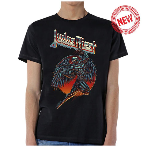 Judas Priest Redeemer Men's Black T-Shirt