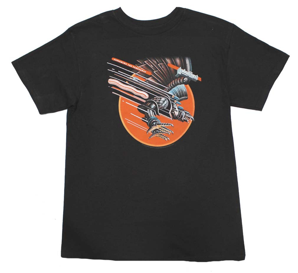 judas priest screaming for vengeance t shirt rockmerch. Black Bedroom Furniture Sets. Home Design Ideas