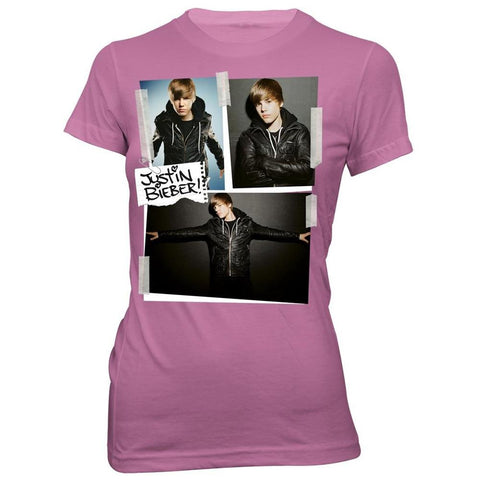 Justin Bieber Cut and Paste Women's T-Shirt