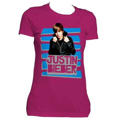 Justin Bieber Leather Stripes Women's T-Shirt
