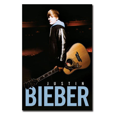 Justin Bieber Notes Glow In The Dark Wall Poster