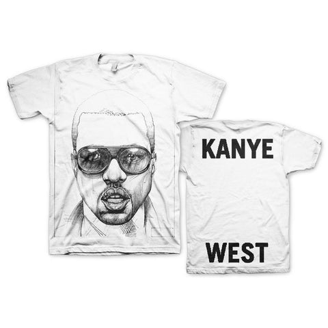 Kanye West Sketch Men's T-Shirt