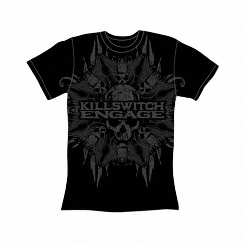 Killswitch Engage Death Star Logo Men's T-Shirt