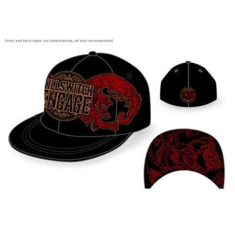 Killswitch Engage Dragon Crest Baseball Hat