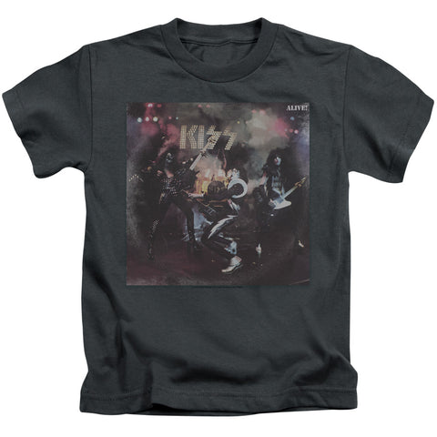 KISS Special Order Alive! Juvenile 18/1 100% Cotton Short-Sleeve T-Shirt
