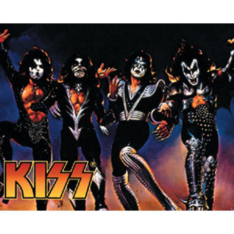 KISS Destroyer Sticker