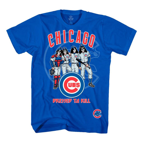 KISS Chicago Cubs Dressed to Kill Men's T-Shirt