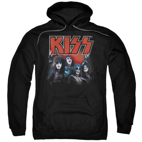 KISS Special Order Kings Men's Pull-Over 75% Cotton 25% Poly Hoodie