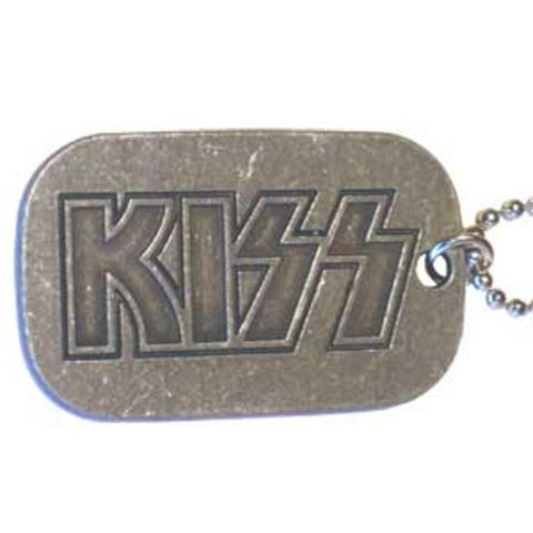 KISS Logo Dog Tag