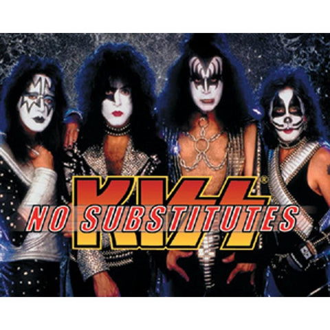 KISS No Substitutes Sticker