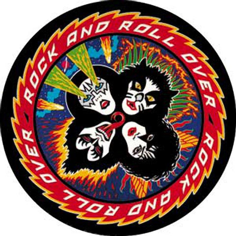 KISS Rock & Roll Over Button