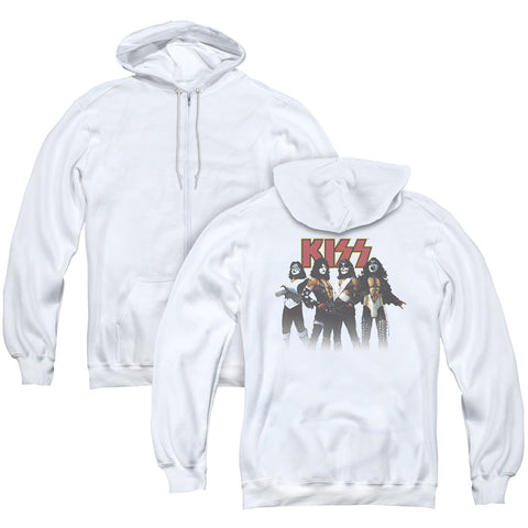 KISS Throwback Pose (Back Print) Men's Pull-Over Hoodie