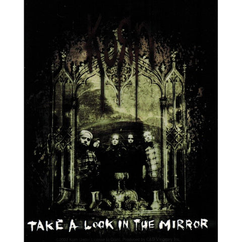 Korn Take A Look In The Mirror Sticker