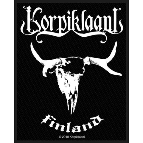 Korpiklaani Finland Woven Sew-on Patch