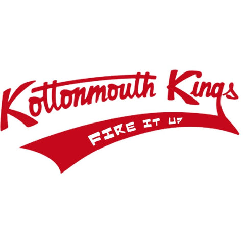 Kottonmouth Kings Baseball Logo Rub-On Sticker - Red