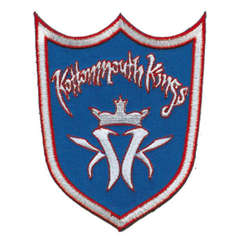Kottonmouth Kings Shield Embroidered Patch