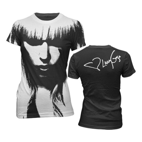 Lady Gaga All Over Face Women's T-Shirt