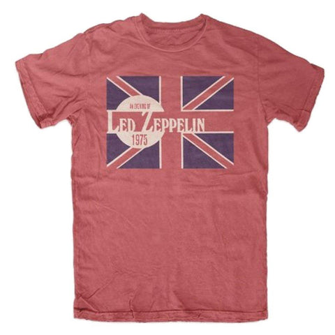 Led Zeppelin Evening of Led Zep 1975 Men's T-Shirt