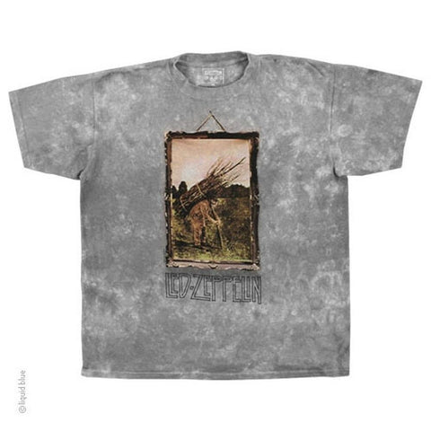 Led Zeppelin Man With Sticks Men's T-shirt